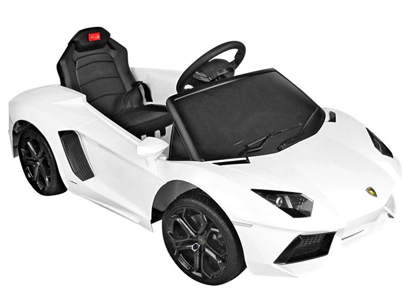 Toyandmodelstore Lamborghini Ride On Remote Control Car White