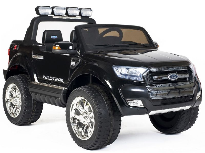 Ford Ranger Wildtrak Toy Jeep Black Kids Sit Amp Ride In