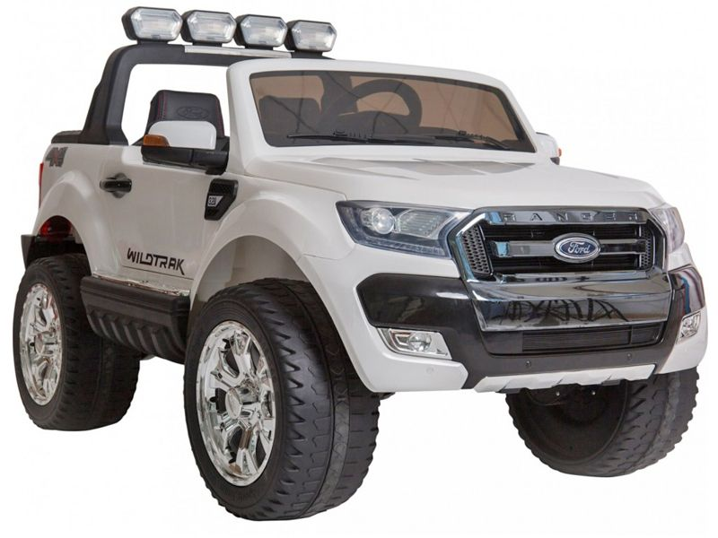 Ford Ranger Wildtrak Toy Jeep White Kids Sit Amp Ride In