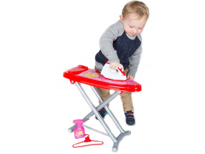 Kids toy ironing board with iron laundry set role role ...