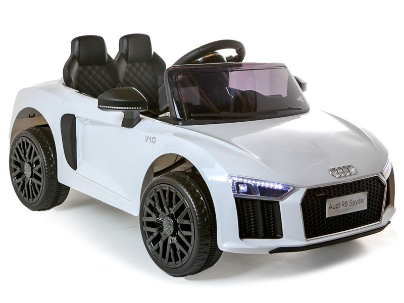 a610d2ba1b50e Audi R8 Spyder Official Sports Car WHITE