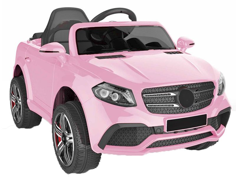 12v Merc GLS Style Pink Jeep Ride On Electric Toy Car With Remote Control