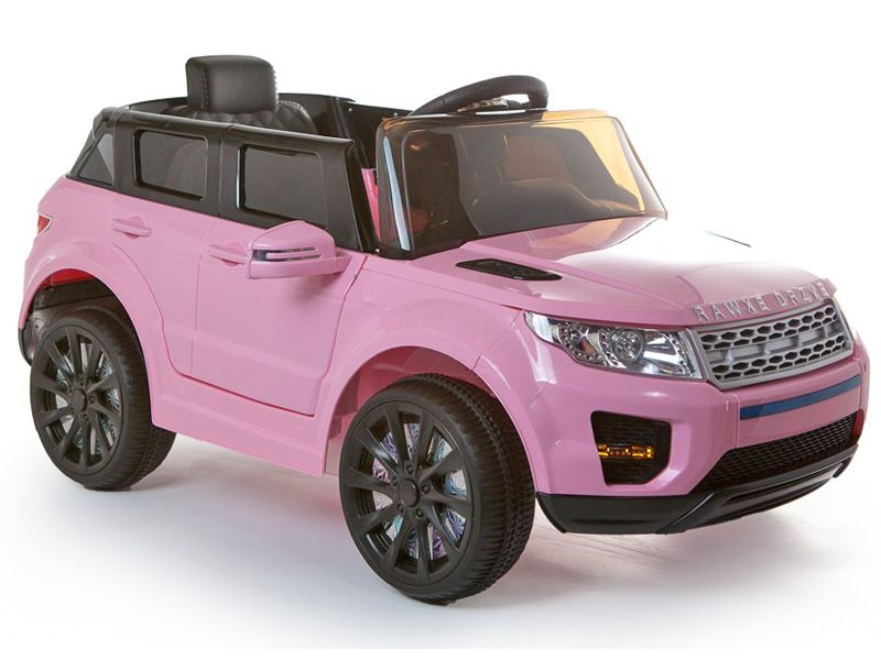 7b4690fbb9f 12v Range Rover Evoque Style Pink Jeep Ride On Electric Toy Car With Remote  Control