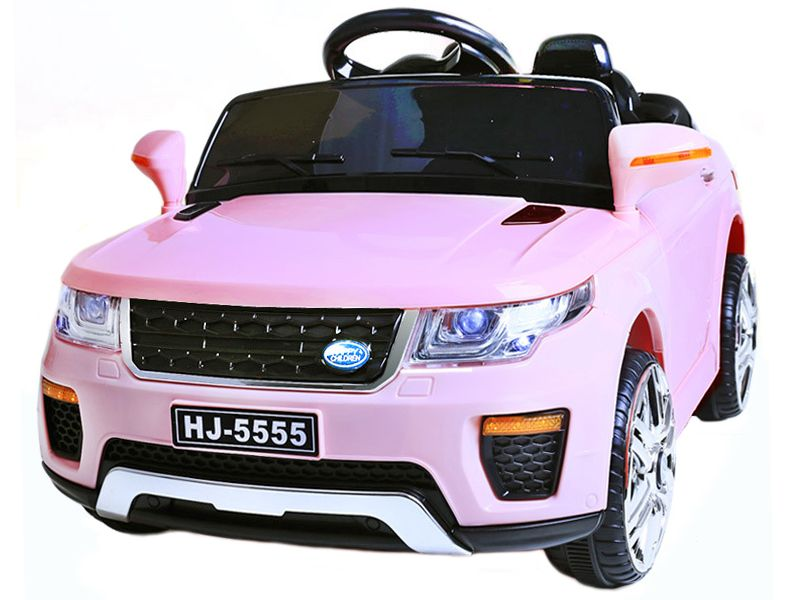 12v Range Rover Style Pink Jeep Junior Ride On Electric Toy Car With Remote Control