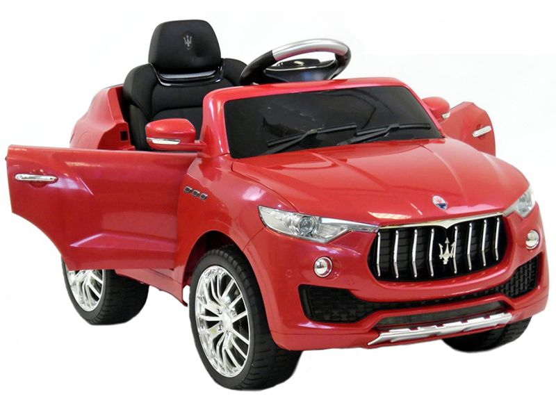 maserati levante suv official toy red | 6v battery powered kids jeep