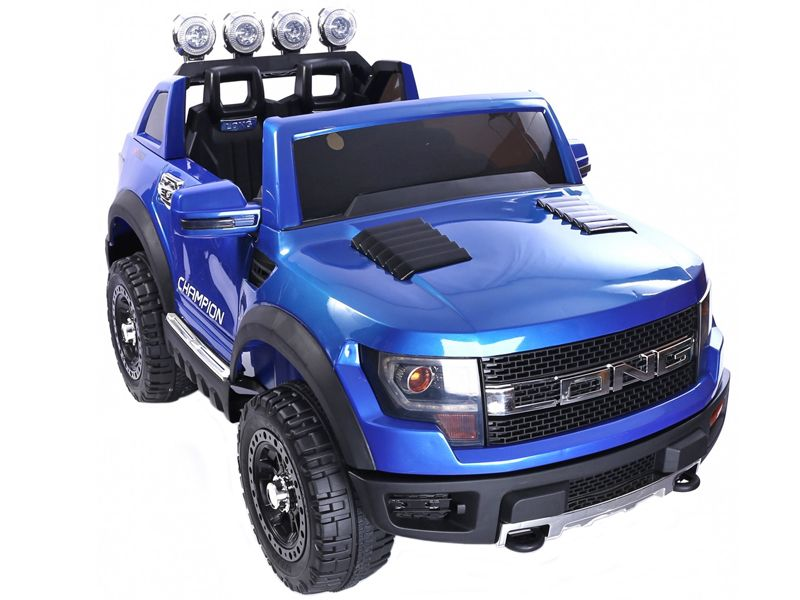 Blue Ford Ranger Wildtrak Kids Toy Jeep Sit Amp Ride In