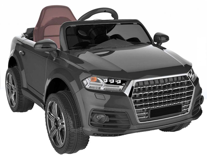 Black Audi Q Style Kids Toy Jeep Midi Size Sit RideIn Car V - Audi electric toy car