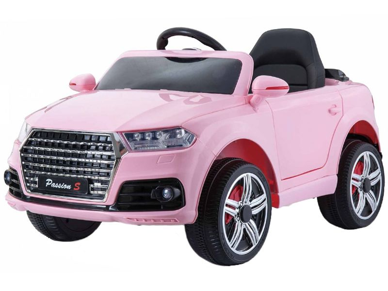 Pink Audi Q Style Kids Toy Jeep Midi Size Sit RideIn Car V - Audi electric toy car