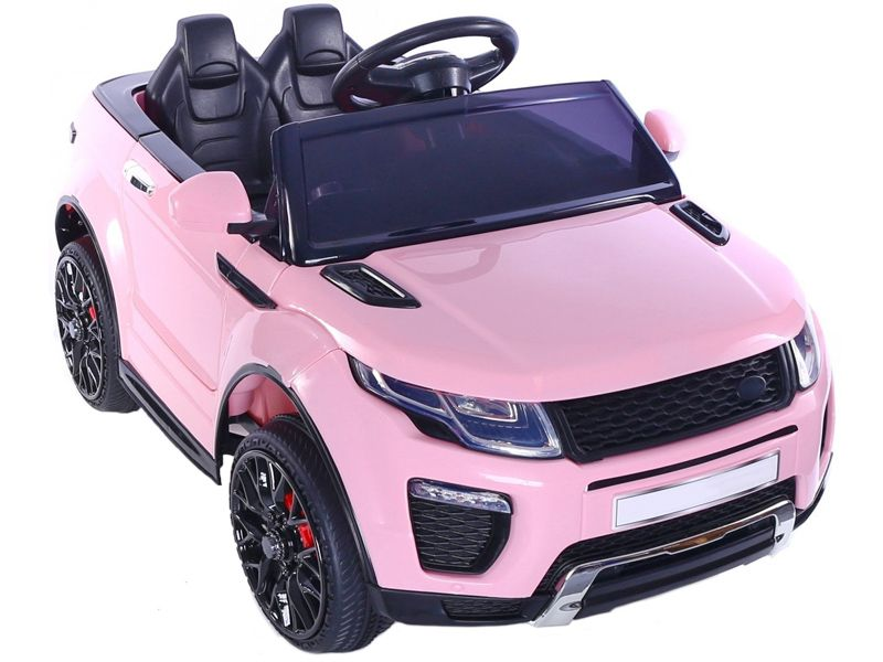 Pink Range Rover Evoque Style Kids Toy Jeep Sit Ride In Car 12v