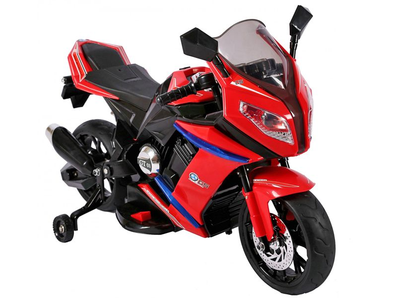 red rr1000 bmw style 12v electric motorbike ride on toy. Black Bedroom Furniture Sets. Home Design Ideas