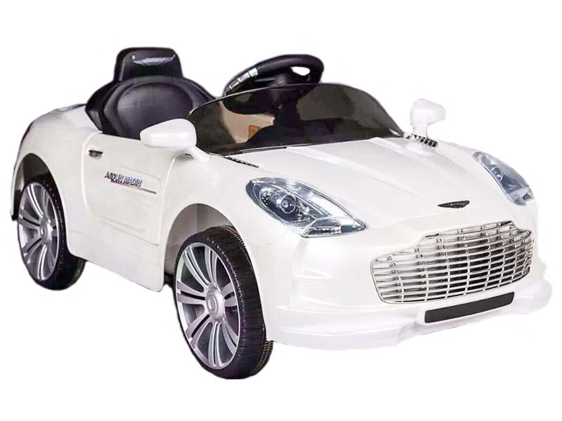 Ride On Car V Electric Aston Martin Style Sports Roadster With Parental Radio Control White P on Racing Quadcopter