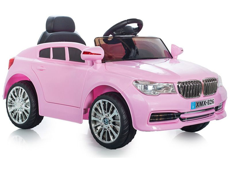 Bmw X5 Replica Kids Pink Electric Car 12v Motorised Sit