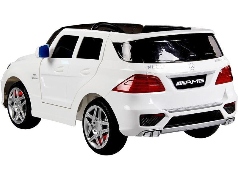 Ride on car 12v electric mercedes benz ml63 suv jeep fully for Mercedes benz box suv