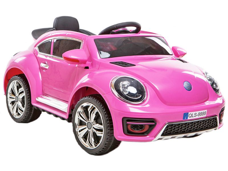 Lamborghini Electric Car For Kids >> 2012 VW Beetle Replica Kids Electric Car PINK | 12 volt Motorised Sit & Ride-In Toy